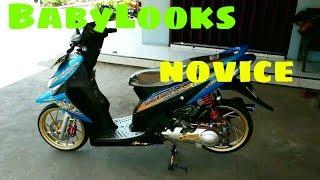 Modifikasi Honda Vario 110 Babylooks Novice