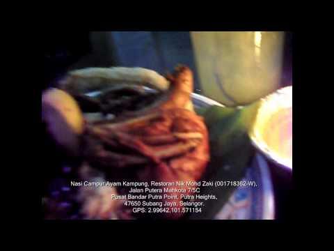 Nasi Campur Ayam Kampung: Restoran Nik Mohd Zaki