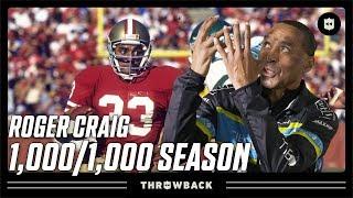 Roger Craig: The ORIGINAL All-Purpose Back! | Throwback Originals