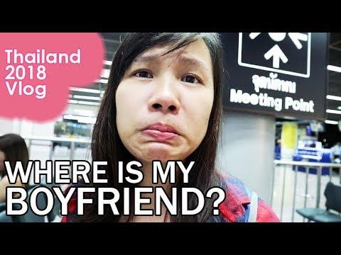 Finding My Boyfriend + FIrst Night in Bangkok! - Travel Vlog