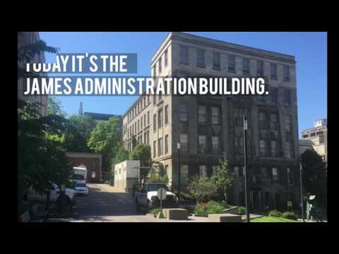 James Administration Building Now and Then
