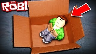 I MAILED MYSELF IN A BOX CHALLENGE IN ROBLOX!