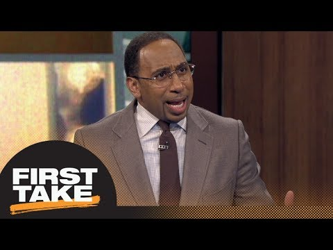 Stephen A. Smith reacts to Tristan Thompson reportedly punching Draymond Green | First Take | ESPN