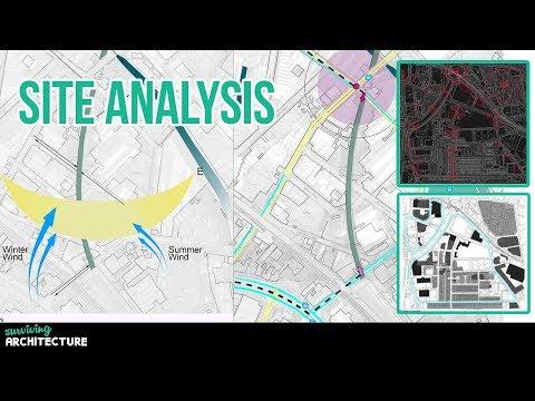 Architectural Design Site Analysis | Adobe Photoshop