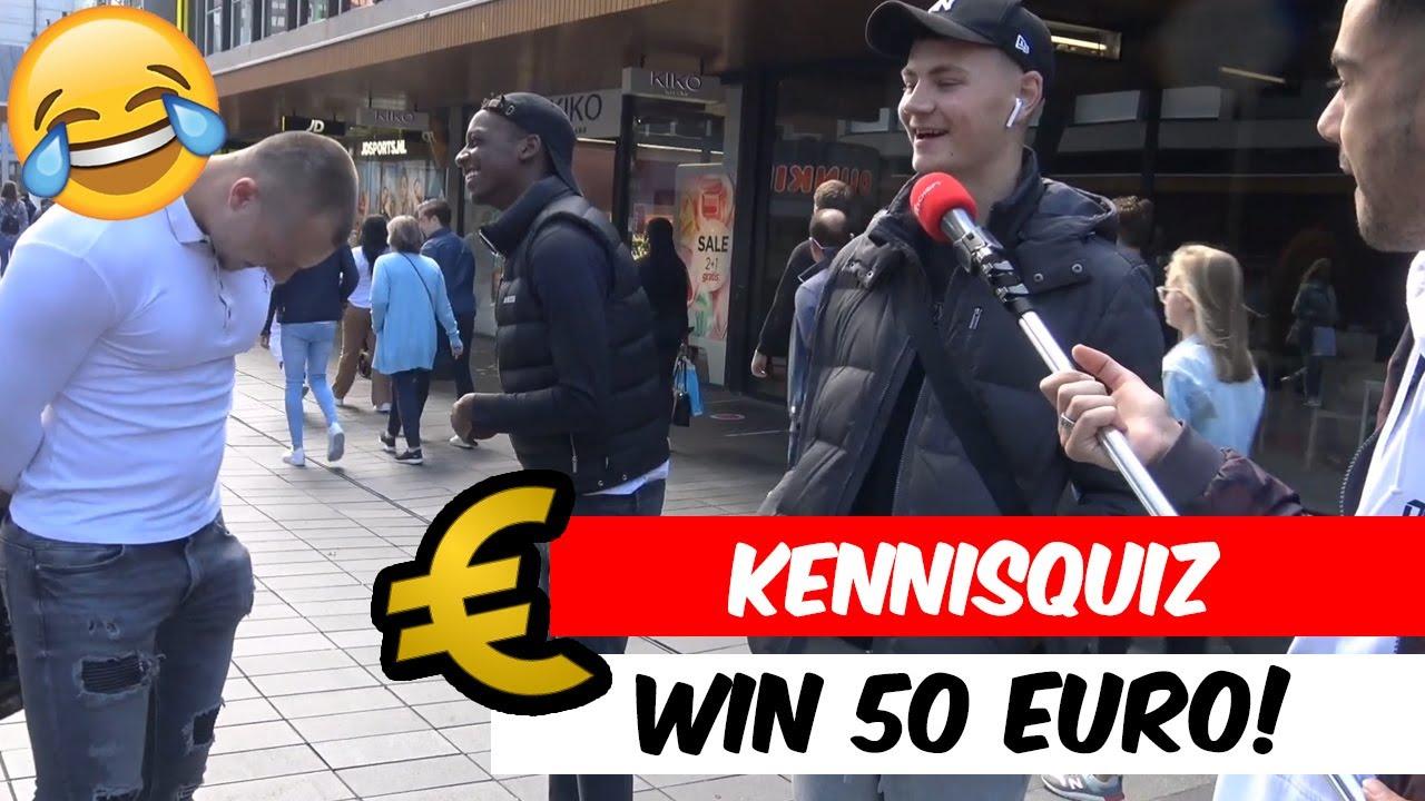 WIN €50 EN BEANTWOORD DEZE VRAGEN!🤣 (ROTTERDAM)