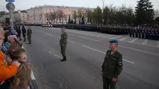 Репетиция парада Псков