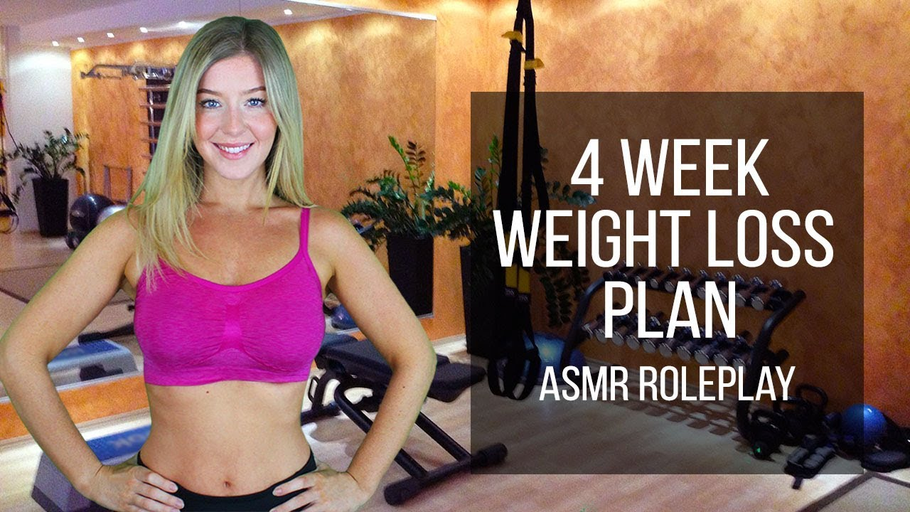 Asmr Personal Trainer 4 Week Weight Loss Plan Youtube