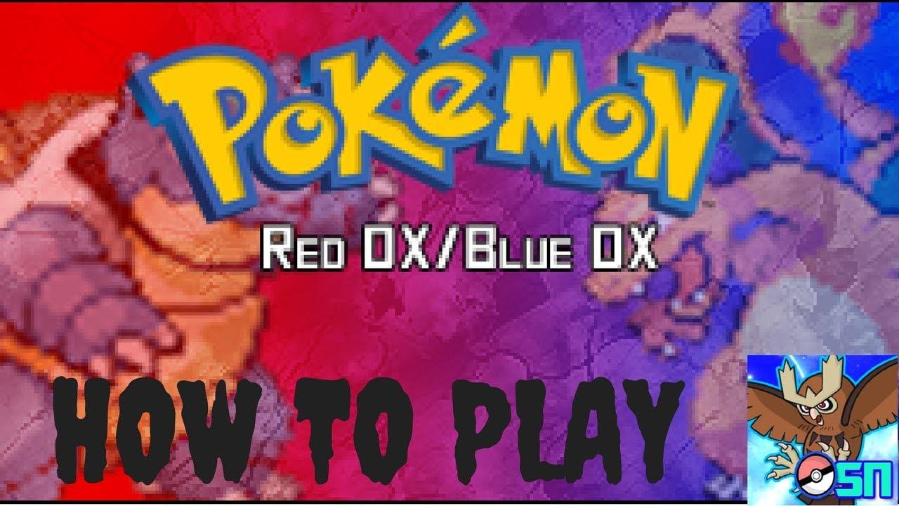 pokemon red dx