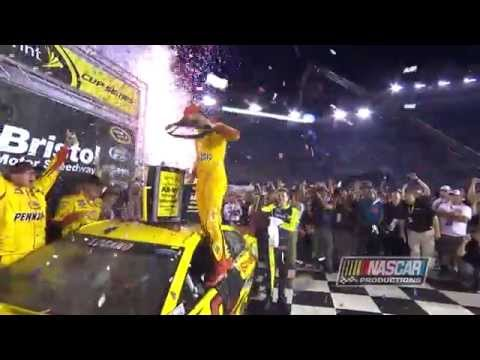 Joey Logano Wins Bristol Night Race For Second Year In A Row