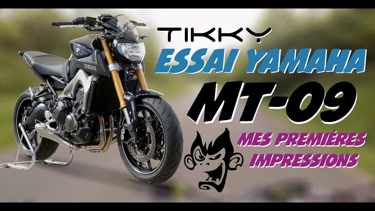 essai yamaha mt 09 2016 full 115 ch youtube. Black Bedroom Furniture Sets. Home Design Ideas