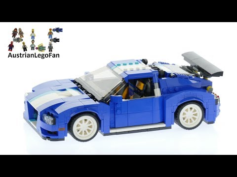 Lego Creator 31070 Turbo Track Racer - Lego Speed Build Review