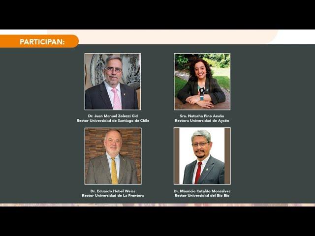 Conversatorio: El rol de las Universidades Estatales en la Nueva Constitución