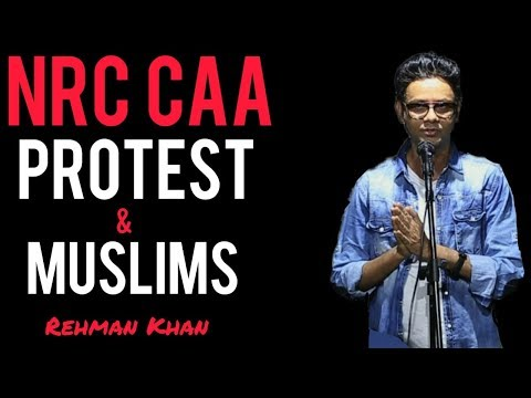 NRC CAA PROTEST & MUSLIMS | STAND UP COMEDY BY REHMAN KHAN