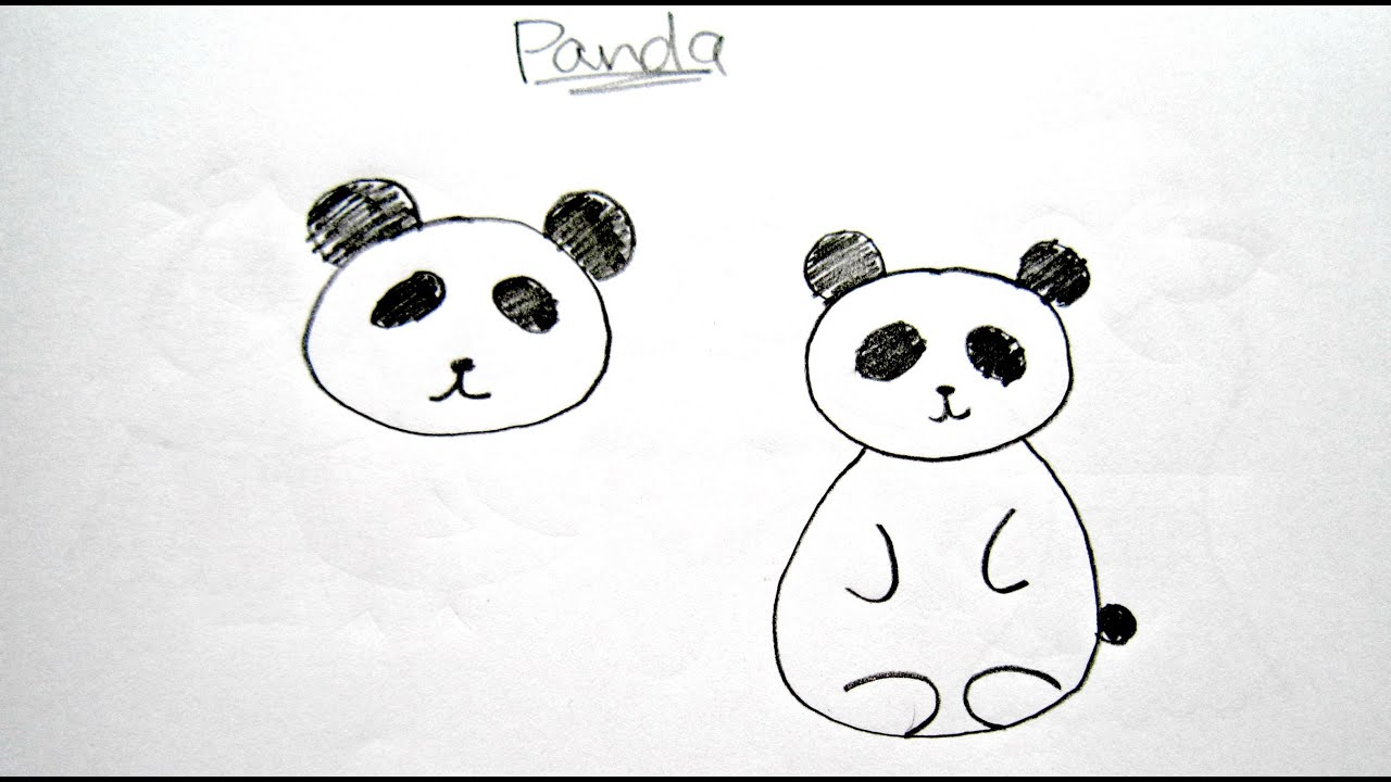 Uncategorized Easy To Draw Pandas how to draw cartoon panda easy drawing tutorial for panda