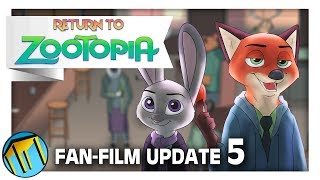 Return To Zootopia FAN-FILM Update 5 - EARLIER Than Expected Release, Drawing and Editing!