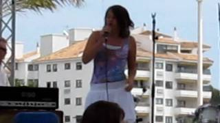 Lucy Jones 11 years old europe day, Mallorca.MOV