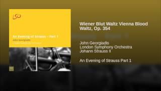 Wiener Blut Waltz Vienna Blood Waltz, Op. 354