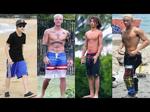 Justin Bieber vs Jaden Smith Transformation ★ 2019