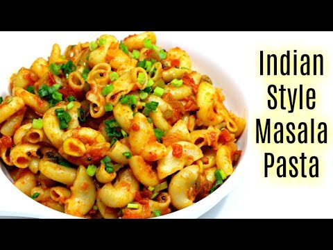 मसाला मैक्रोनी | Indian Style Macaroni Pasta Recipe | KabitasKitchen