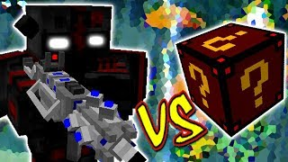 OUTCAST VS. LUCKY BLOCK SPOOKY (MINECRAFT LUCKY BLOCK CHALLENGE)
