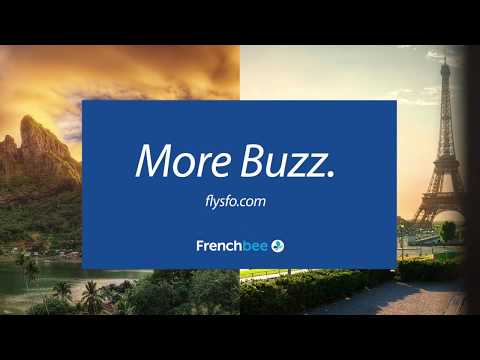 Welcome French Bee To SFO!