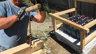 DIRT SIMPLE DIY Timber Frame Battery Box (Part 1)