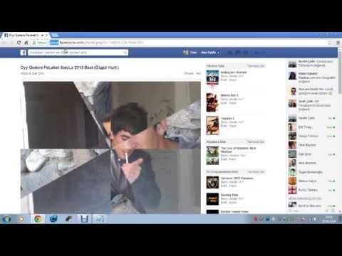 Program kullanmadan facebooktan video indirme