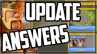TOP 10 UPDATE Questions Answered! Clash of Clans Summer Update 2019