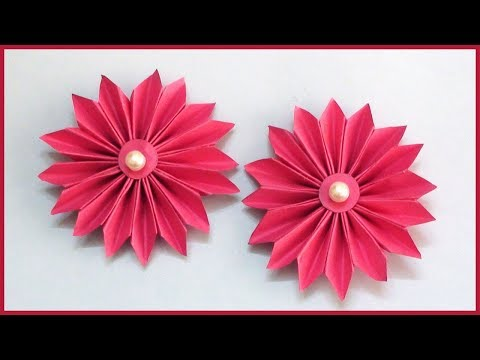 How to Make Flower Ideas | DIY Paper Crafts for Kids and Beginners
