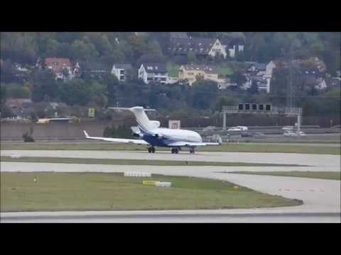 Boeing 727-021 Malibu Consulting Corporation take off at Stuttgart Airport