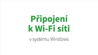 Jak na tablet s Windows 8 – Připojení k Wi-Fi síti