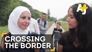 Crossing the Hungarian border [Pt. 2] | AJ+
