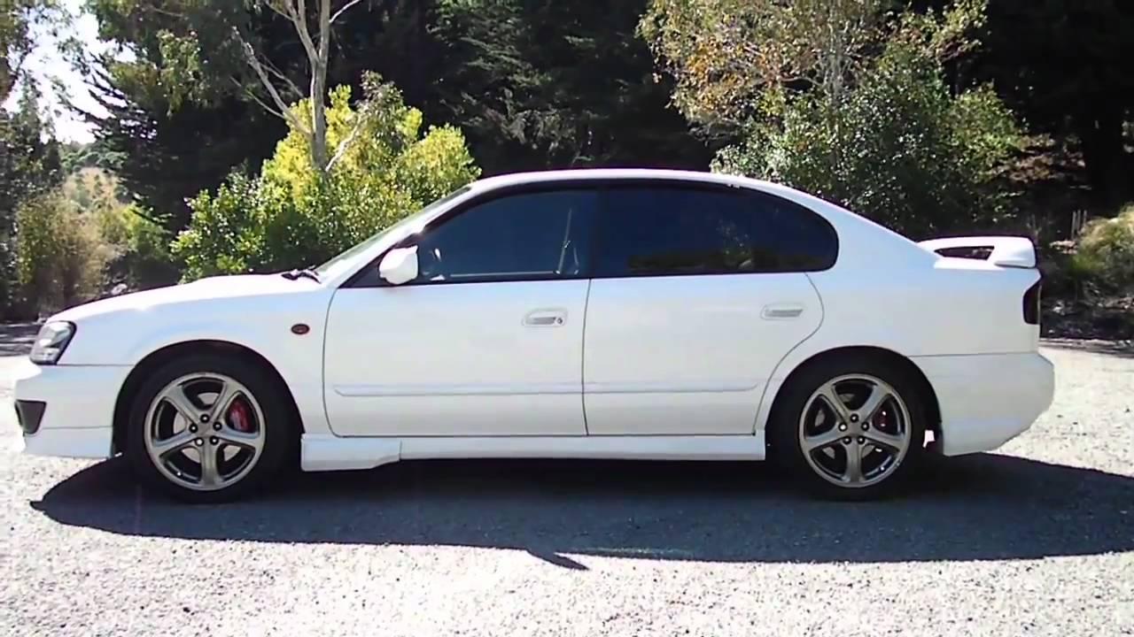 ניס Subaru Legacy B4 RSK 2003 walk around - YouTube WU-42