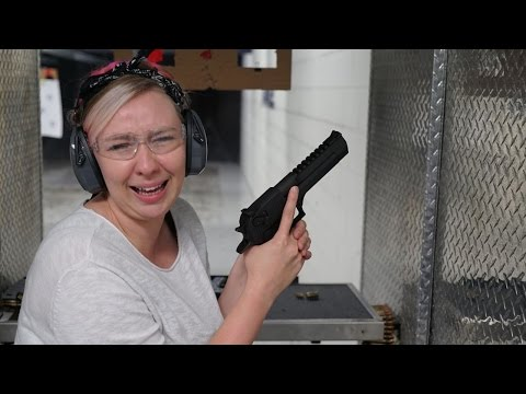 Canadians Shooting Guns for the First Time