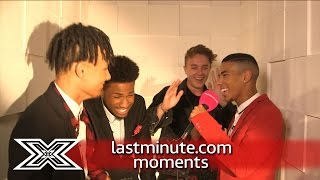 lastminute.com Moments | Moments Booth with 5 After Midnight | The X Factor UK 2016