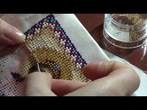 - Технология вышивки бисером. Виды швов.