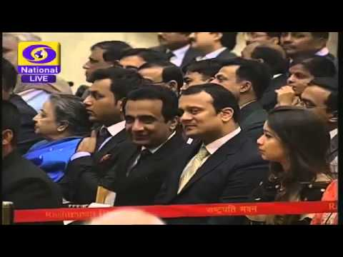 FULL VIDEO Sachin Tendulkar Bharat Ratna Award Presentation Ceremony LIVE 2014