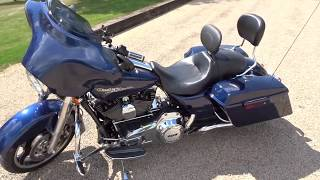 Harley Davidson Street Glide Review | Heavy Breather | Python Pipes | Hawgwired Speakers