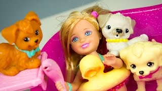 Barbie Flippin' Pup Pool and Chelsea Doll Playset Review