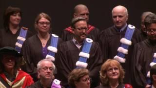 Collation des grades 2016 de la Faculté des sciences humaines