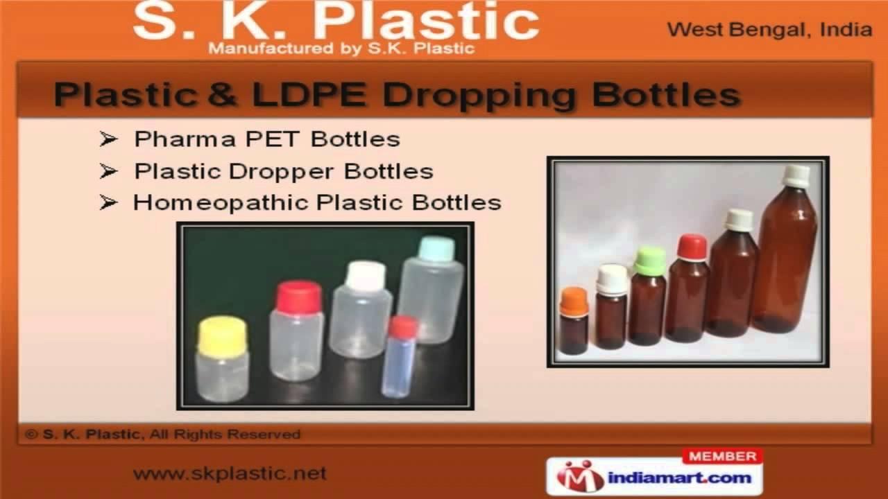 Plastic Bottles & Caps by S  K  Plastic, Kolkata - YouTube