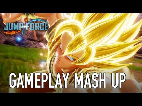 JUMP Force - PS4/XB1/PC - Gameplay Mash-up (E3 2018)