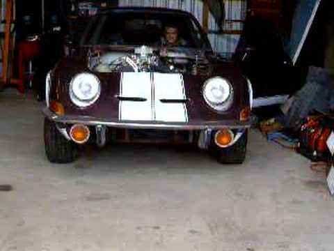 Opel gt v8 conversion kit