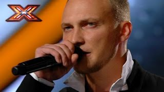 Vitold with lyrical song. The Ukrainian X Factor 2016