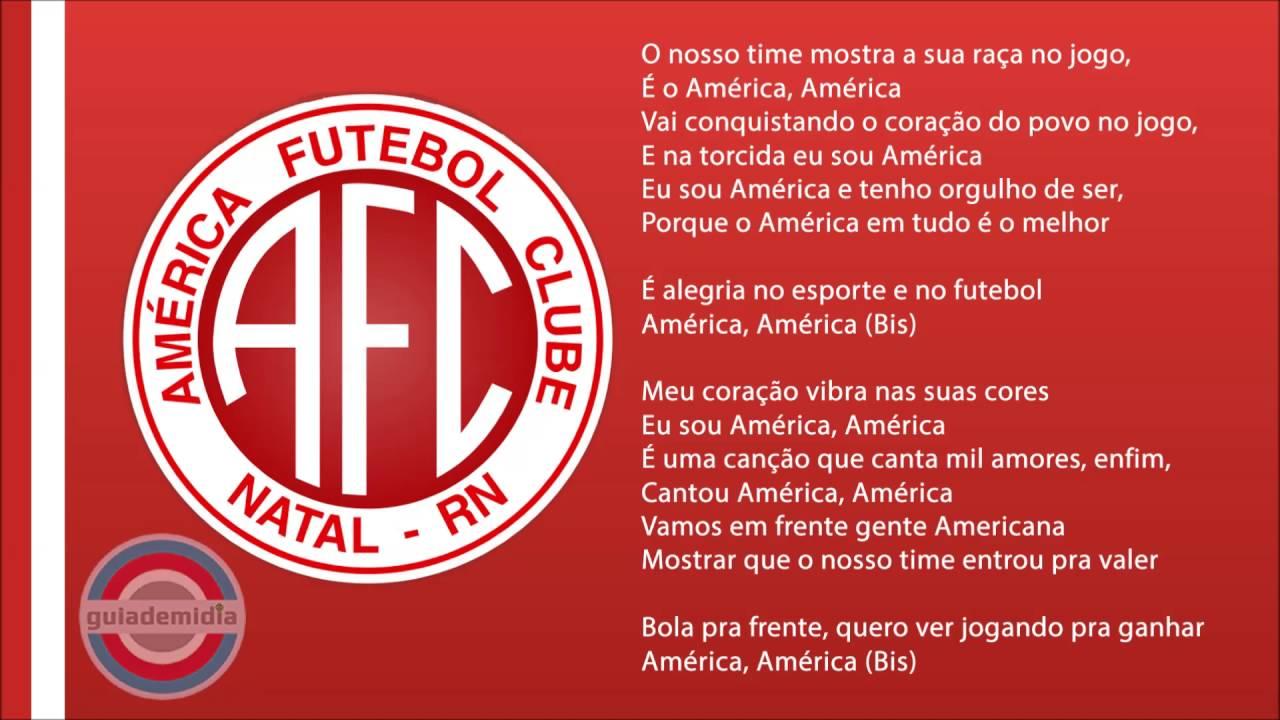 Hino do América Futebol Clube ( Natal   RN )  a72a2bff24c