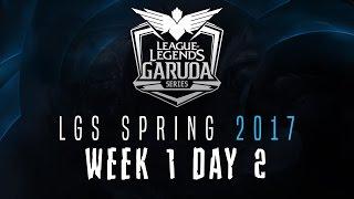 LGS Spring 2017 - W1D2 | Garena League of Legends Indonesia