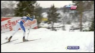 Супер-финиш Александра Легкова,эстафета,Рыбынск 2011.mp4