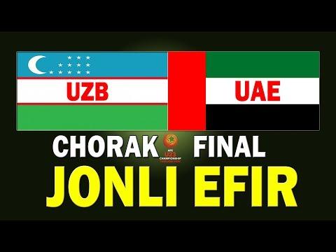 O'ZBEKISTON Vs BAA #JONLIEFIR LIVE. БАА - ЎЗБЕКИСТОН #UZBUAELIVE #UZBEKISTANBAA