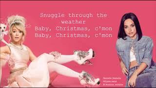Christmas C'mon - Lindsey Stirling ft. Becky G (lyrics)