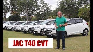 JAC T40 CVT - Primeiras impressões do Emilio Camanzi